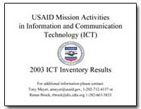 Usaid Mission Activitiesin Information a... by International Development Agency