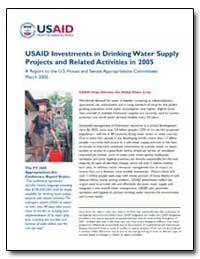 Usaid Investments in Drinking Water Supp... by International Development Agency
