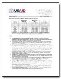 Avian and Human Influenza Response Unit-... by International Development Agency