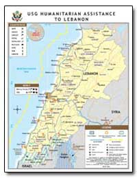 Usg Humanitarian Assistance to Lebanon by International Development Agency
