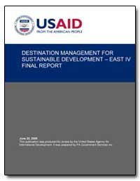 Destination Management for Sustainable D... by International Development Agency