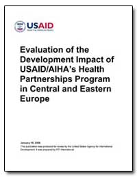 Evaluation of the Development Impact of ... by International Development Agency