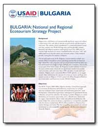 Bulgaria : National and Regional Ecotour... by International Development Agency