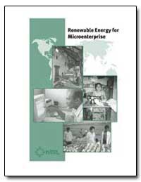 Renewable Energy for Microenterprise by International Development Agency