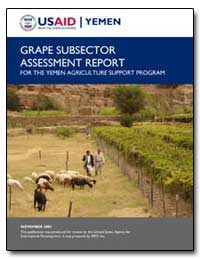 Grape Subsector Assessment Report for th... by International Development Agency