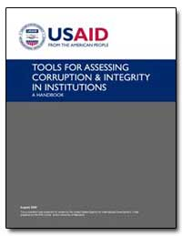 Tools for Assessing Corruption and Integ... by International Development Agency