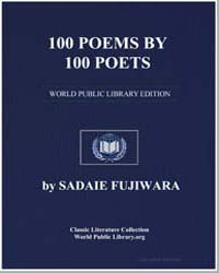 100 Poems By 100 Poets by Fujiwara, Sadaie