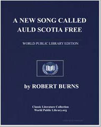 A A New Song Called Auld Scotia Free, to... by Burns, Robert