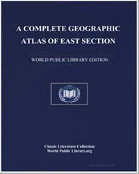 A Complete Geographic Atlas of East Sect... by