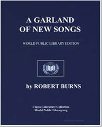 A Garland of New Songs: Young Johnston; ... by Burns, Robert