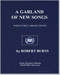 A Garland of New Songs: Young Love among... by Burns, Robert