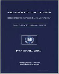 A Relation of the Late Intended Settleme... by Uring, Nathaniel