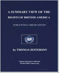 A Summary View of the Rights of British ... by Jefferson, Thomas