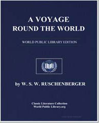 A Voyage Round the World, Including an E... by Ruschenberger, W. S. W.