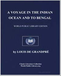 A Voyage in the Indian Ocean and to Beng... by Grandpré, Louis de