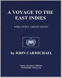 A Voyage To The East Indies; Containing ... by Carmichael, John