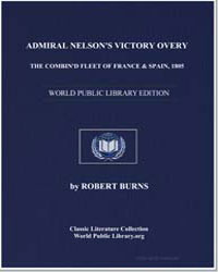 Admiral Nelson's Victory Over the Combin... by Burns, Robert