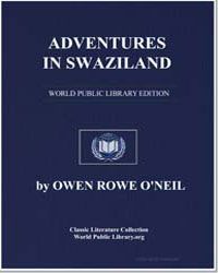 Adventures in Swaziland the Story of a S... by O'Neil, Owen Rowe