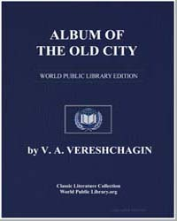 Album of the Old City by Vereshchagin, V. A.
