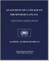 An Account of a Voyage up the River de l... by Acarete, du Biscay