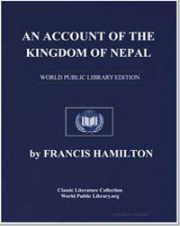 An Account of the Kingdom of Nepal by Hamilton, Francis