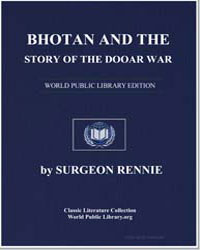 Bhotan and the Story of the Dooar War by Rennie, D. F.