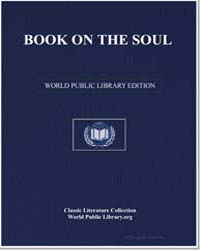 Book on the Soul by Avempace