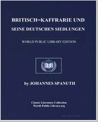 British Kaffraria and its German Settlem... by Spanuth, Johannes