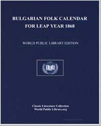 Bulgarian Folk Calendar for Leap Year 18... by Kŭrpachev, En'o Khristov