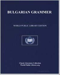 Bulgarian Grammar by Rilski, Neofit