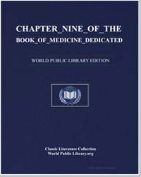 Chapter Nine of the Book of Medicine Ded... by Rāzī, Abū Bakr Muḥammad ibn Zakarīyā