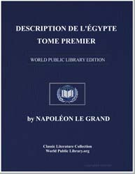Description of Egypt: Antiquities, Volum... by Commission des sciences et arts d'Egypte