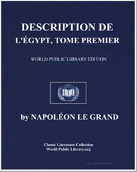Description of Egypt: Antiquities, Descr... by Napoleon I, Emperor of the French