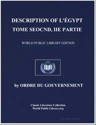 Description of Egypt: Modern State, Volu... by Commission des sciences et arts d'Egypte