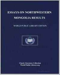 Essays on Northwestern Mongolia: Results... by Potanin, G. N. (Grigoriĭ Nikolaevich),