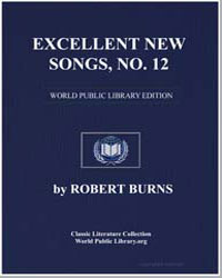 Excellent New Songs: Viz. The Soldier's ... by Burns, Robert