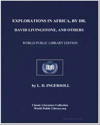Explorations in Africa, By Dr. David Liv... by Livingstone, David