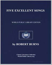 Five Excellent Songs: The Flower O'Dumbl... by Burns, Robert