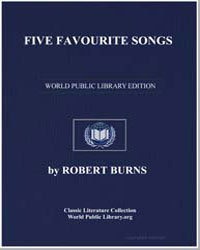 Five Favourite Songs: Royal Charlie; Joh... by Burns, Robert
