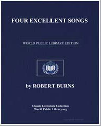 Four Excellent Songs: The Laird of Cockp... by Burns, Robert