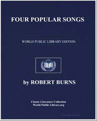 Four Popular Songs: Alice Gray; My Mithe... by Burns, Robert