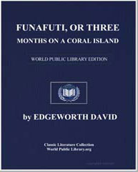 Funafuti; Or Three Months on a Coral Isl... by David, Caroline Martha
