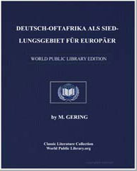 German East Africa as a Settlement Regio... by Lindequist, Friedrick von