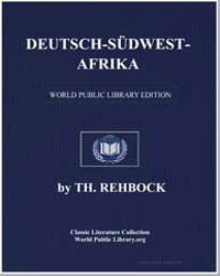 German South-West Africa by Rehbock, Theodor
