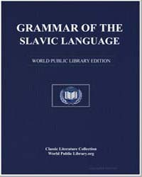Grammar of the Slavic Language by Momchilov, Ivan Nikolov