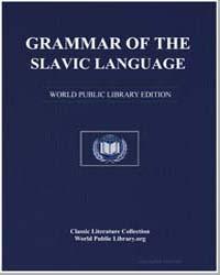 Grammar of the Slavic Language by Momchilov, Ivan Nikolov
