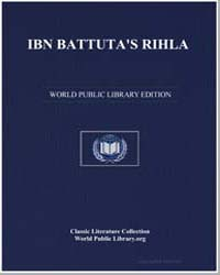 Ibn Battuta's Rihla by Ibn-Batuta