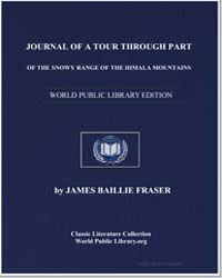 Journal of a Tour through Part of the Sn... by Fraser, James Baillie