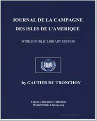 Journal of the Campaign of the Islands o... by Tronchoy, Gautier du
