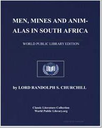 Men, Mines and Animals in South Africa by Churchill, Randolph Henry Spencer, Lord